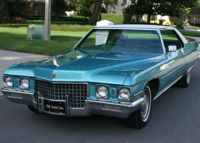1971 Cadillac DeVille COUPE - REFRESHED - 2K MILES