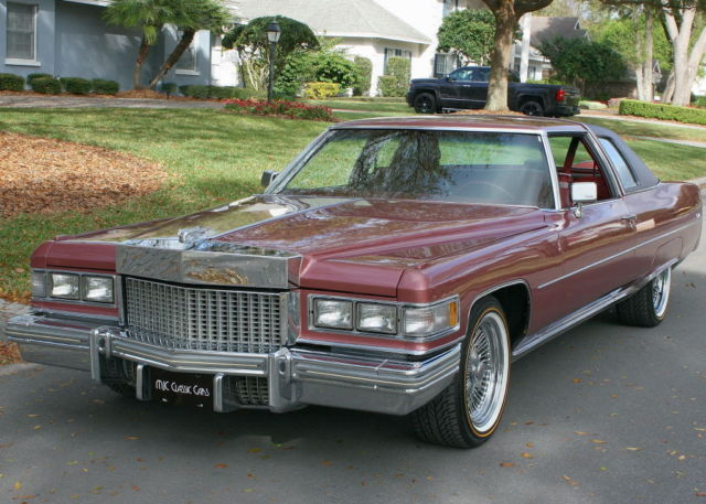 1975 Cadillac DeVille COUPE - TWO OWNER - 40K MILES