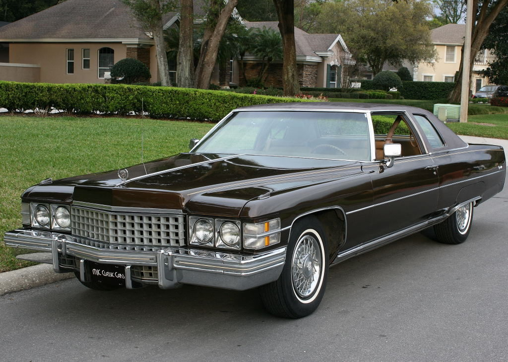 1974 Cadillac DeVille COUPE - ONE OWNER -14K MILES