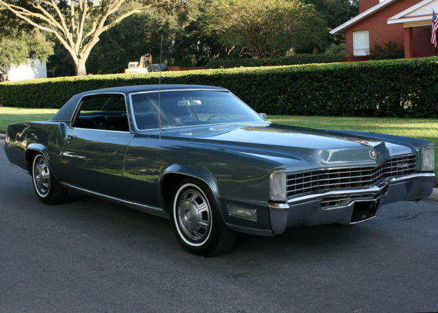 1968 Cadillac Eldorado COUPE - TWO OWNER - 67K MILES