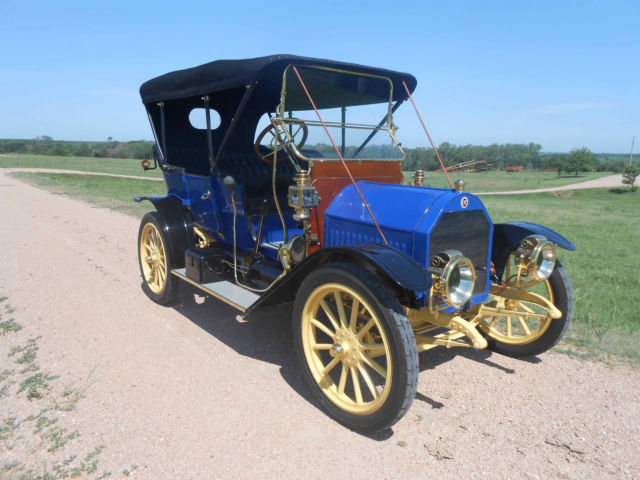Elmore Model 25 Touring 1911 Rare Two Cycle Engine Fully Restored General Motors For Sale