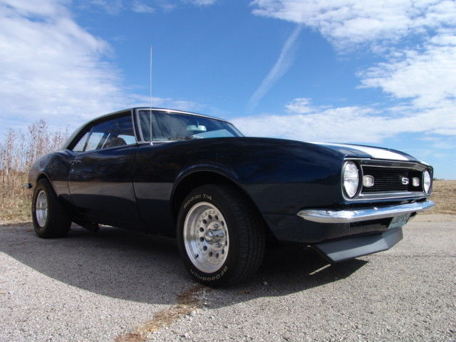1968 Blue Chevrolet Camaro See Video Coupe with Black interior