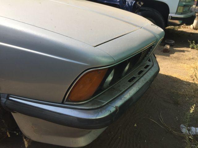 euro bmw 635csi grey market import project for sale photos