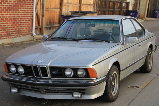 euro spec 1979 635csi for sale photos technical specifications