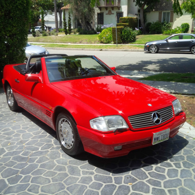 1992 Mercedes-Benz SL-Class 500SL Roadster 35k Miles Hard/Soft Convertible