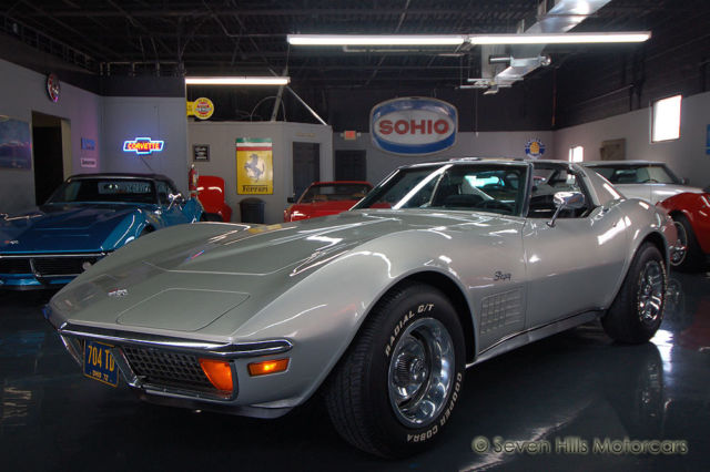 1972 Chevrolet Corvette #'s Match