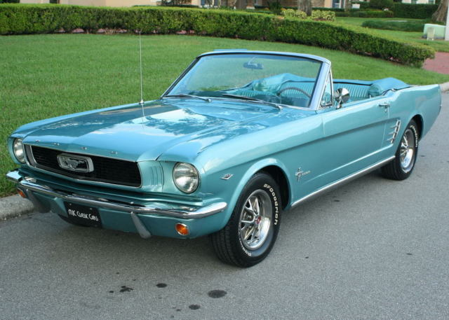 1966 Ford Mustang CONVERTIBLE RESTORED - 1K MILES