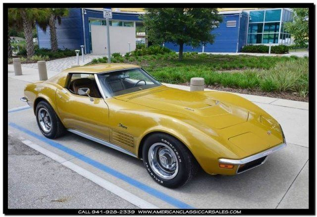 1972 Chevrolet Corvette 454 4 speed