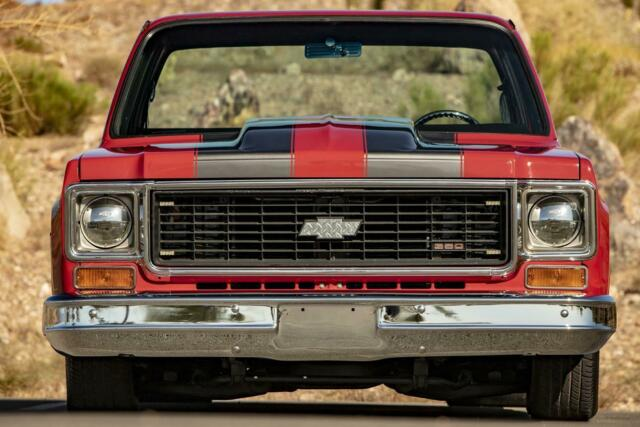 1974 Red Chevrolet Other PRO STREET SUPERCHARGED TRUCK with Black interior