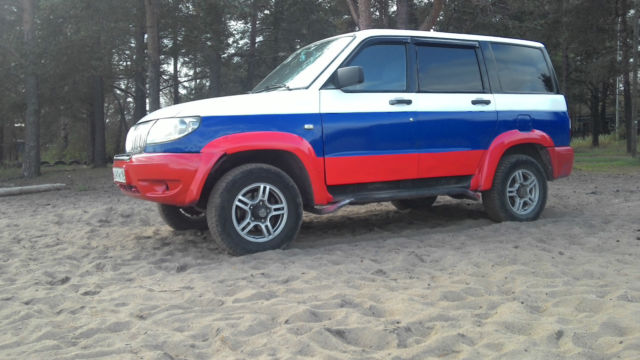 1980 Other Makes (2007 year of manufacture) UAZ Patriot