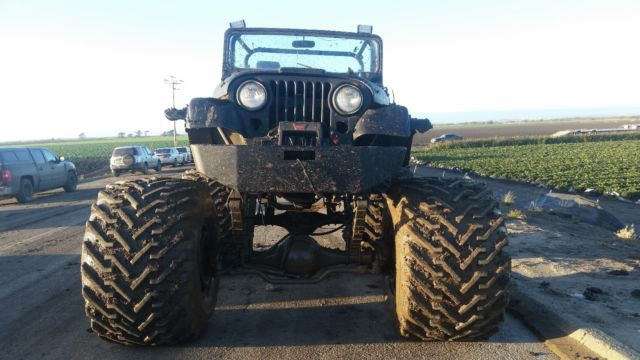 Extreme 4x4 Jeep Monster Truck For Sale Photos Technical