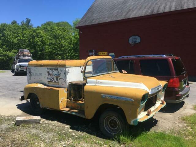 1959 Yellow Chevrolet Other Pickups
