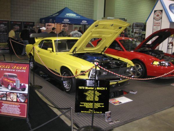 1970 Ford Mustang Mach1 428 Cobra Jet