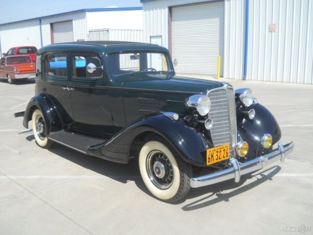 extremely rare restored 1934 nash big six w twin ignition brougham trunk 4door for sale. Black Bedroom Furniture Sets. Home Design Ideas