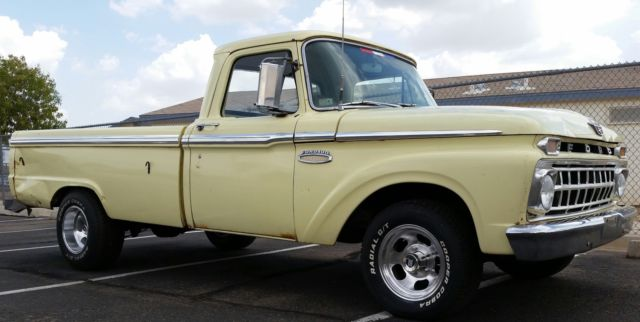 1965 Ford F-100 Origional Paint Rust Free Condition Daily Driver