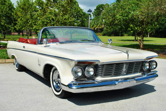 1963 Chrysler Imperial Convertible 413 V8 Factory A/C Rare Classic Luxury