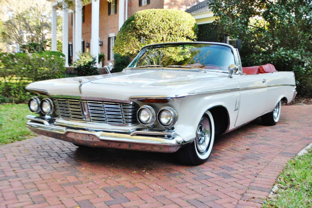 1963 Chrysler Imperial Convertible 413 V8 Factory AC Classic Luxury Mopar