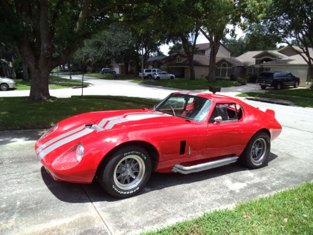 1965 Replica/Kit Makes Factory Five Daytona Coupe