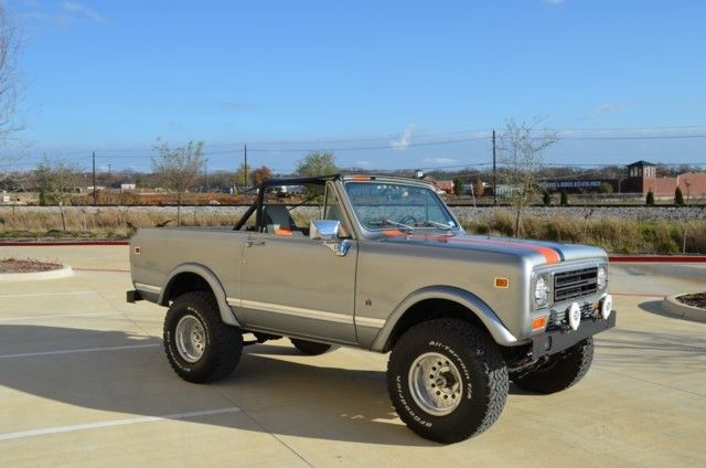 1979 International Harvester Scout II 4WD
