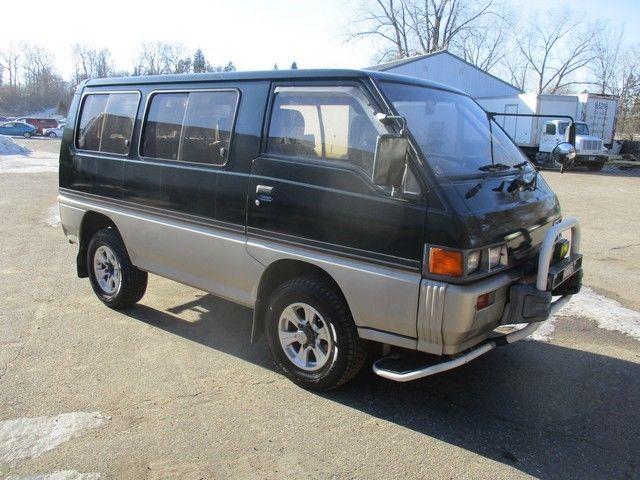 Fed Legal Japan Import 1987 Mitsubishi Delica L300 4X4 2.5
