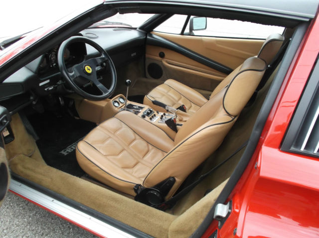 Ferrari 308 Gtsi 1984 Red With Tan Leather Interior For Sale Photos Technical Specifications