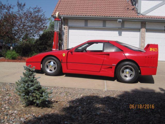 Ferrari F40 Replica For Sale Photos Technical Specifications