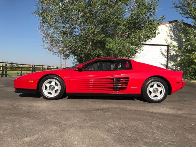 12k In Miles >> Ferrari Testarossa 12k Miles Recent Service Same Owner 25