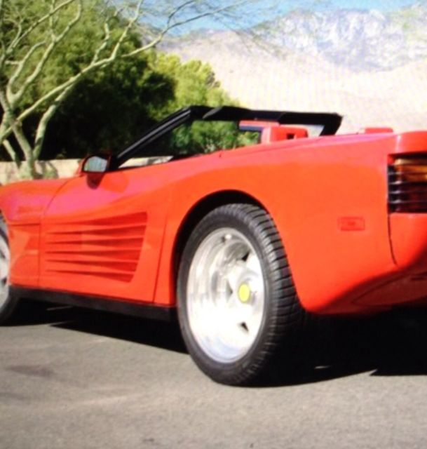Ferrari Testarossa Replica (kit Car) Convertible For Sale