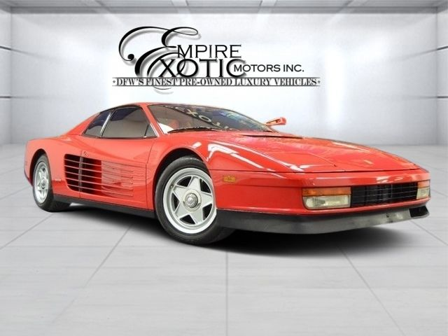 1986 Ferrari Testarossa Flying Mirror with tons of receipts!  16K