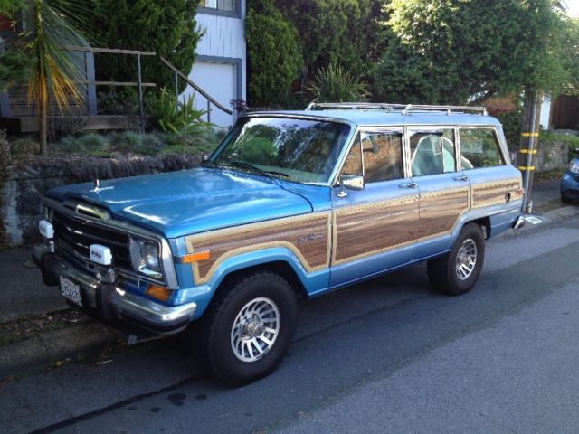 final year 1991 jeep grand wagoneer for sale photos technical. Cars Review. Best American Auto & Cars Review