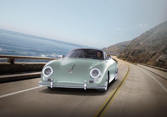 First Ever 357 Porsche Speedster 325 Hp Pdk Porsche Modern Chassis 001 For Sale Photos