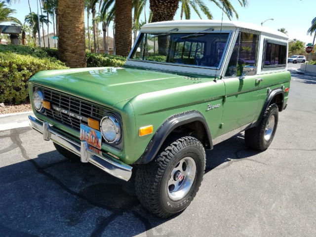 1976 Ford Bronco II 4x4 Ultra Rare Classic Vintage Barn Find