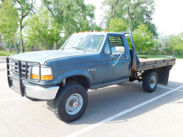 1994 Ford F-350 XL,F350,No Reserve,4x4,5 speed stick,Manual,1 Ton,