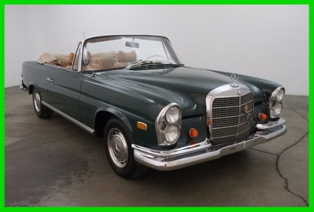 1970 Mercedes-Benz 200-Series Cabriolet