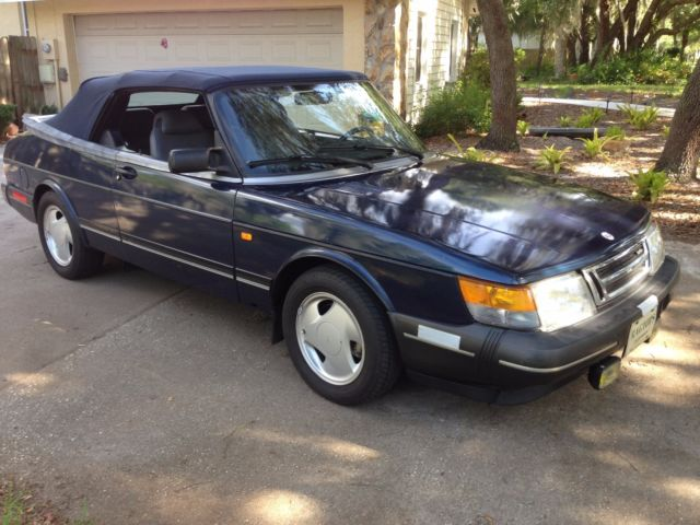 1993 Saab 900 ORIG.FLORIDA CAR,NEWER TOP & MORE, TRADE FOR 350Z-SEQUOIA