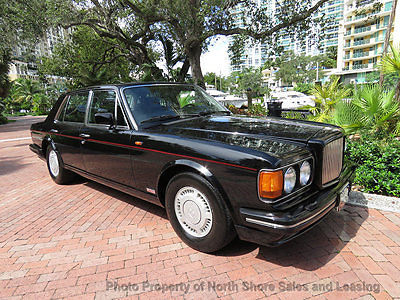 1989 Black Bentley Turbo R R Sedan with Black interior