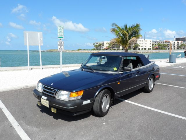 1993 Saab 900 FUN FLORIDA CONVERTIBLE! COLD AC! BEST OFFER! TAMPA