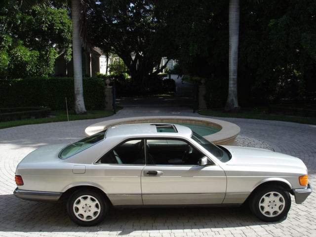 1983 Mercedes-Benz 500-Series 500 SEC