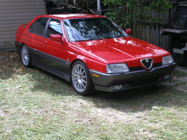 for sale 1994 alfa romeo 164 q for sale photos technical specifications description. Black Bedroom Furniture Sets. Home Design Ideas