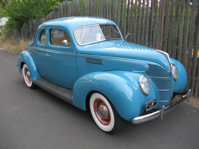1939 Ford Coupe, Mild 50's Hot Rod, Fresh Flathead, 5 Speed