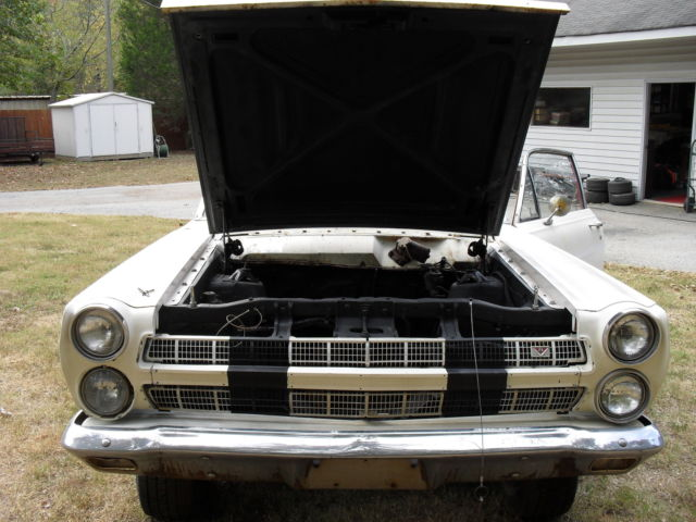 FORD 1966 MERCURY COMET 2 DR COUPE factory 289 2V body, for