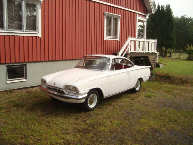 1963 Ford Capri  Coupe 2 doors