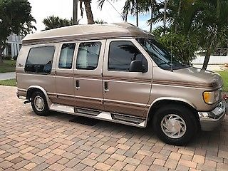 Ford Conversion Van Great Family Vehicle Work Home Depot Runs Camping