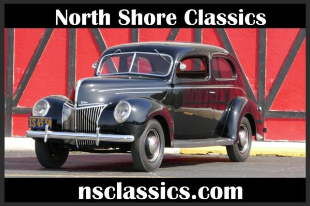 1939 Ford Other -RESTORED TO ORIGINAL-2 DOOR SEDAN-BLACK BEAUTY-