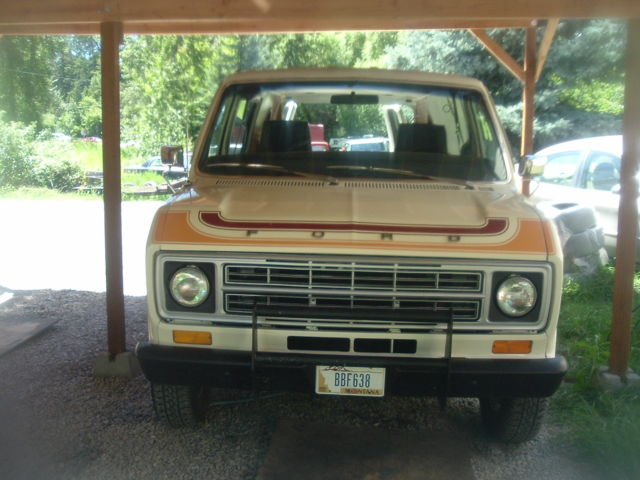 1978 Ford E-Series Van
