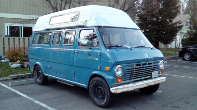 1969 Ford E-Series Van camper, day van, surf bus