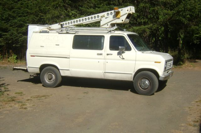 1991 Ford E-Series Van