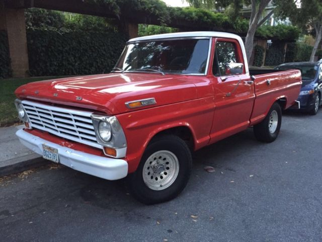 1968 Ford F-100 Short bed