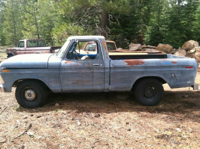 1973 Ford F-100 Short Bed