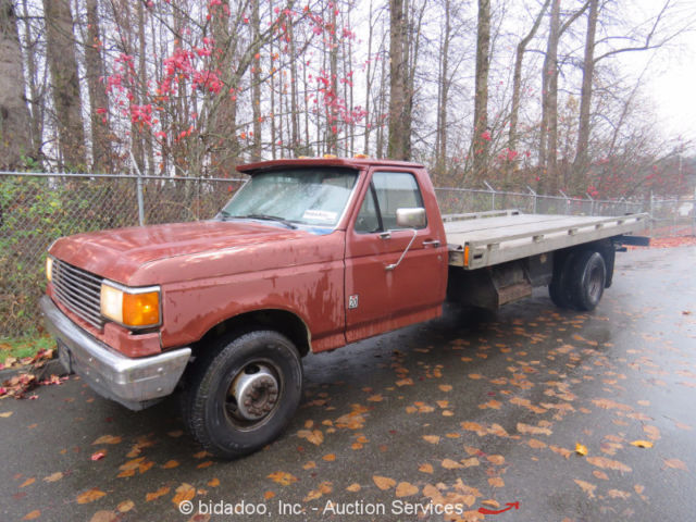 ford f 450 flatbed rollback tow truck 7 3l v8 diesel 4 speed manual rh topclassiccarsforsale com ford truck manual 1964 ford truck manual transmission fluid